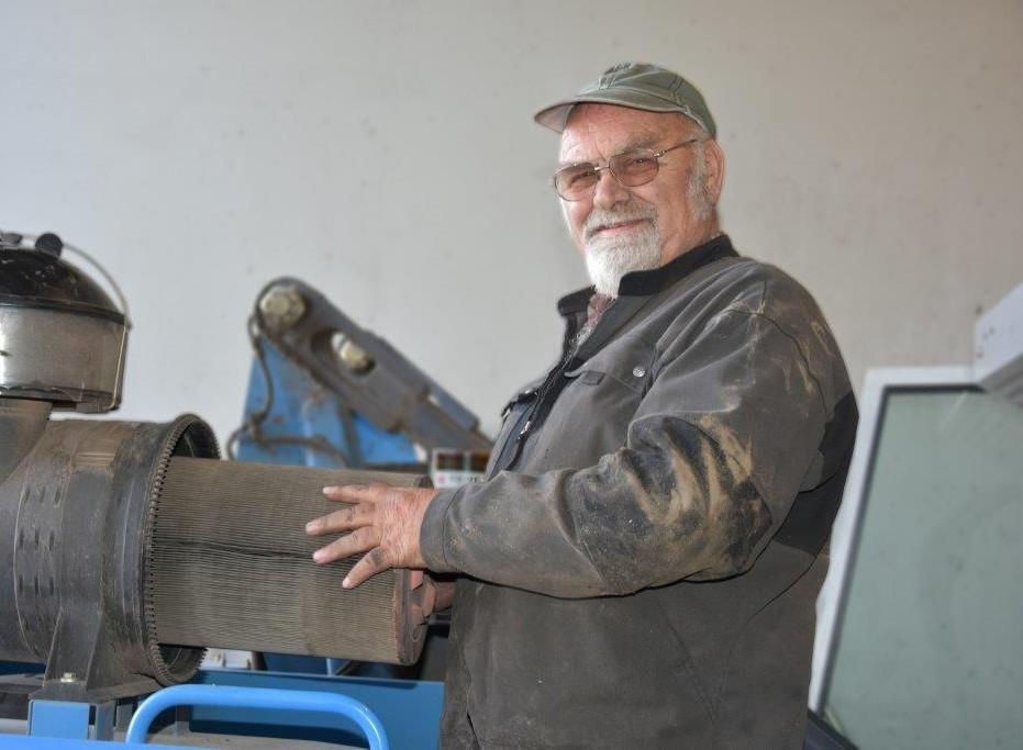 Fritz Wiedmer : Aushilfsmitarbeiter Werkstatt