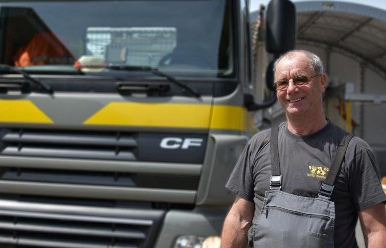 Josef (Sepp) Rey : LKW-Chauffeur auf 2 + 3-Achser Welaki