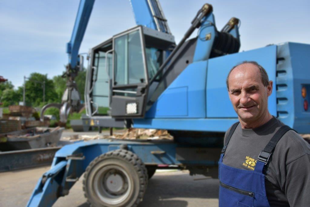 Markus Strebel : Abteilungsleiter Holzverarbeitung