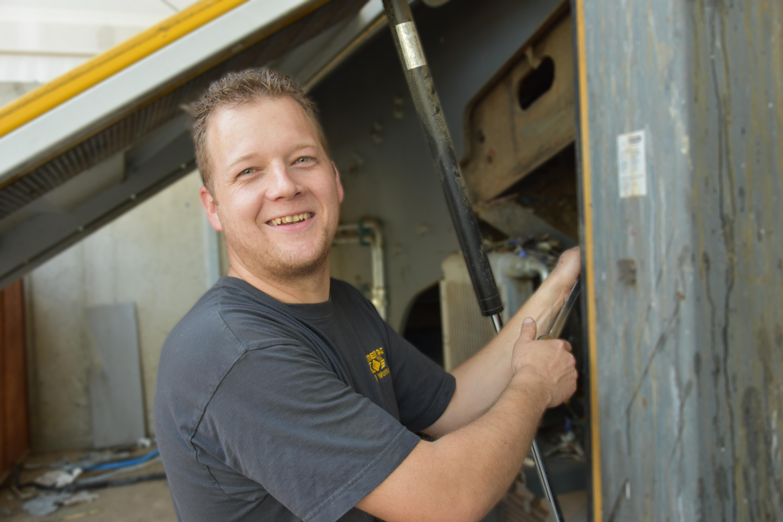 Simon Geissmann : Werkstattchef
